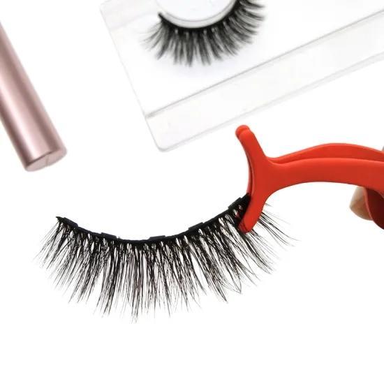 Wholesale Magnetic Eyelashes and Eyeliner Custom Magnetic Eyelashes with Tweezers