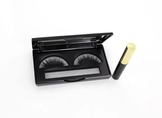 Handmade Natural Long Full Strips Magnetic Lashes New Design Magnetic Eyeliner Eyelash