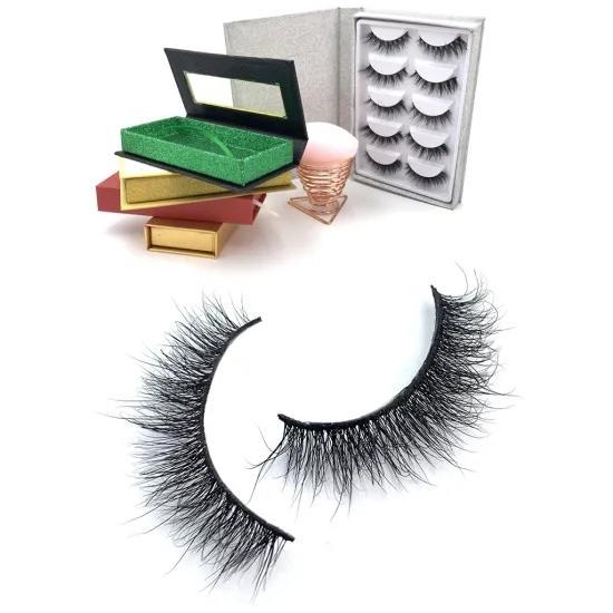 High Quality Light Weight Magnetic Eyeliner Lashes Custom Private Label Magnetic Eyelashes