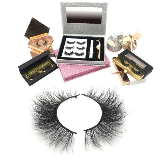 Factory Price Wholesale Magnetic Eyelashes With Custom Packaging Box And Waterproof Eyelash Magnetic Eyeliner