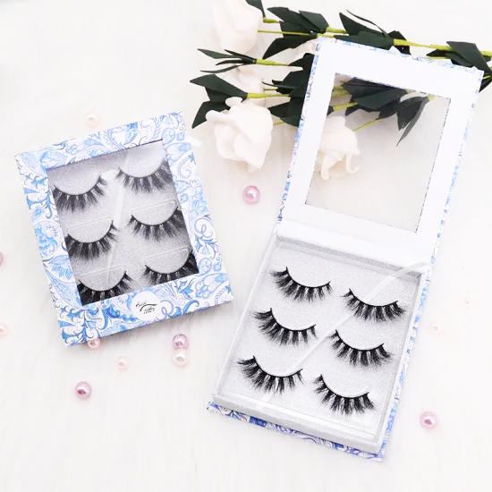 2020 New Styles Wholesale Private Label Custom Eyelash Packaging Magnetic Eyelashes Boxes