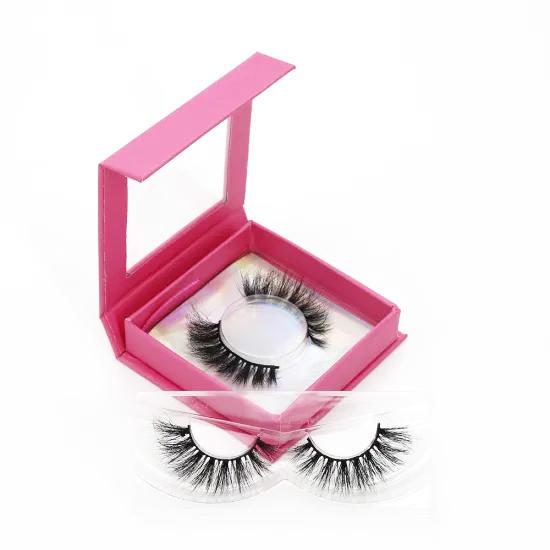 Wholesale Price Newset Magnet Eyelash 2 Pairs Of Mink Eyelash 8d Quantum Magnetic Eyelash Kit With Applicator Mirror