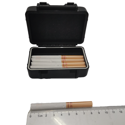 IP67 Waterproof and Smell-proof Magnetic Case Stash Box for Cigarette Under Vehicle