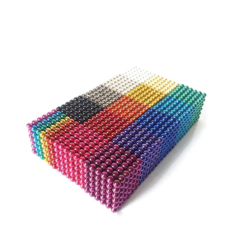 Customized Bucky Balls 5mm New Colorful Cube Bucky Balls