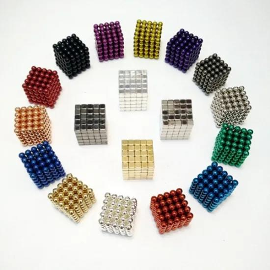 216 512 Pieces Large 5mm Magnetic Balls Building Blocks Sculpture Magnets