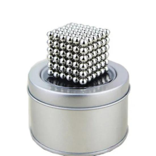 Promotional 5MM 216 Pcs Magnetic ball for adult Stress Relief
