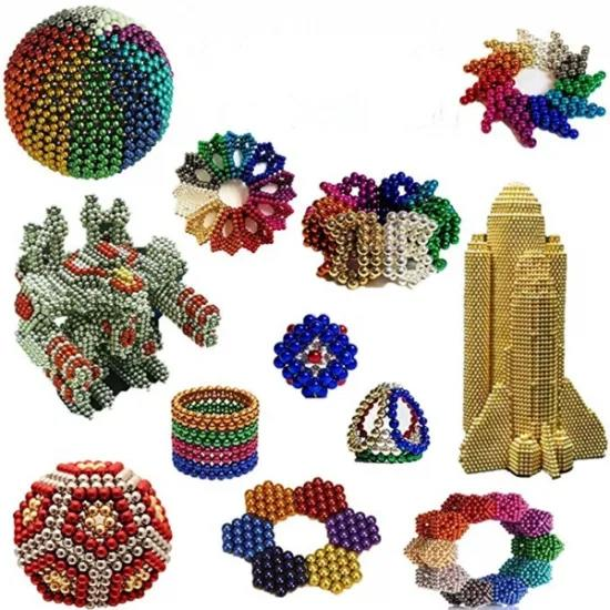Wholesale A Large Number Of Colored Permanent Magnetic Ndfeb Magnet Balls