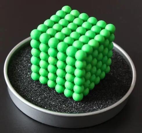 Custom Manufacturer Super Strong Metal Magic Cube 3mm 216pcs Magnetic Balls 5mm