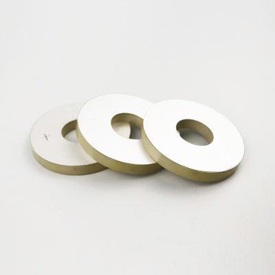 China Supplier Piezo Element Piezoelectric Ceramic Ring For Ultrasonic Cleaner Piezo Sensor