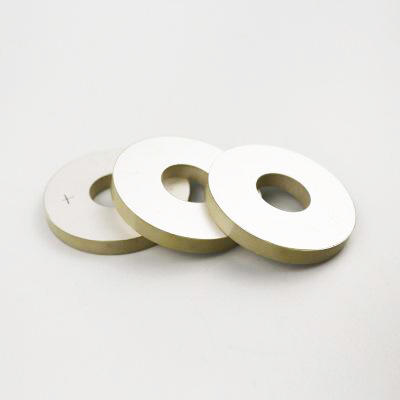 China Supplier Piezo Element Piezoelectric Ceramic Ring For Ultrasonic Cleaner Piezo Sensor