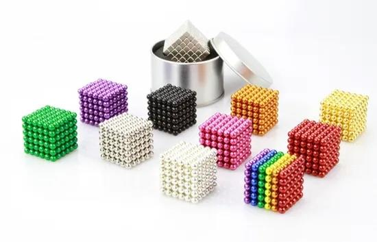 Custom Colorful Game Bucky Balls 5mm 8mm 10mm Magnetic Ball 3mm Creative Gift For Kid Teens
