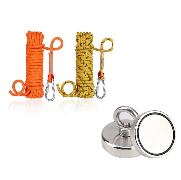 Hot sale Strong NdFeB composite Countersunk Neodymium Magnetic Hook and Fishing Magnet
