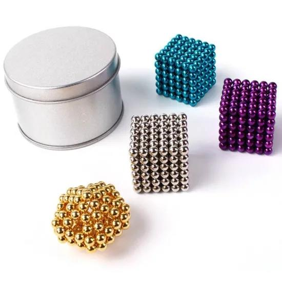 Magnetic Balls 3MM 216 PCS Magnetic Cube Magnetic Sculpture Building Blocks Buckyballs Washable Sturdy Buildable Magnets