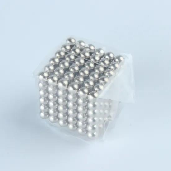 Super DIY Assemble Magnet Blocks 5mm Magnetic Balls Toys Magnetic Cube Puzzle Funny Toys
