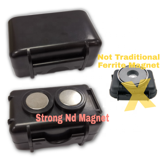 Waterproof Magnetic Case IP67 GPS Tracker 66Lbs