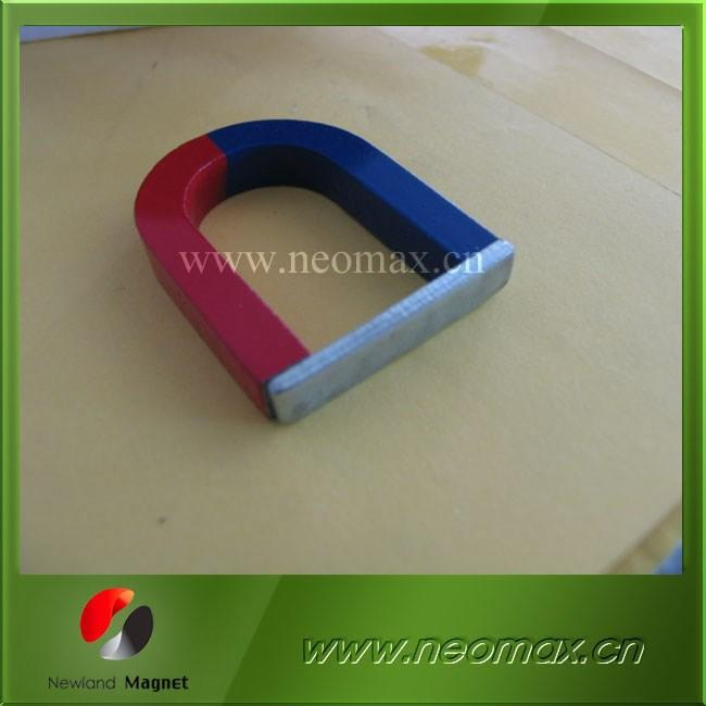 Teaching U-shaped magnet/horse alnico magnet/ainico U-shape teaching magnet