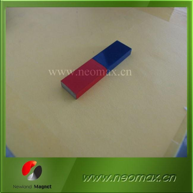 high performance block rectangle alnico magnet for teaching
