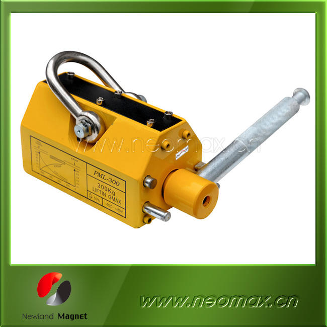 plate and round steel lifting magnet