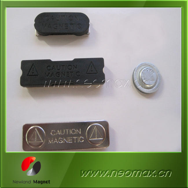 Ndfeb/neodymium magnetic badges