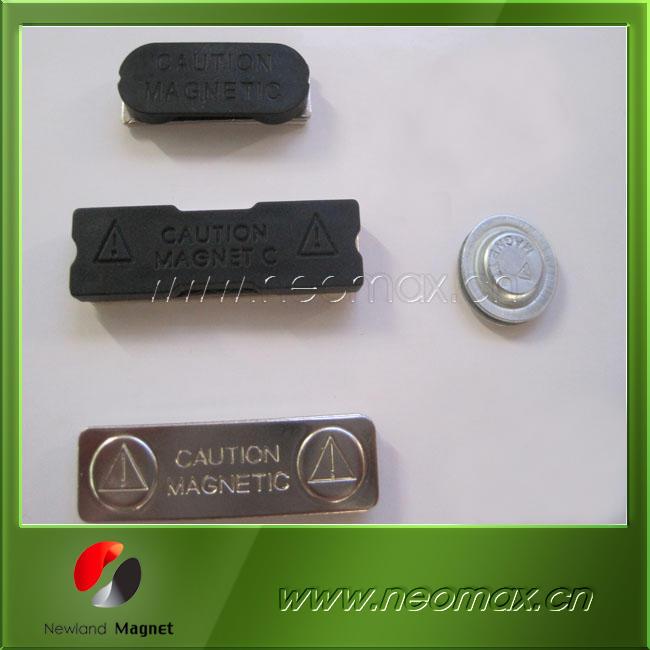 Ndfeb/neodymium magnetic badges