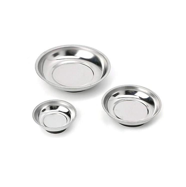 Custom Made Stainless Steel Magnetic Bowl Tool Tray Nuts Bolts Screws Part magnet