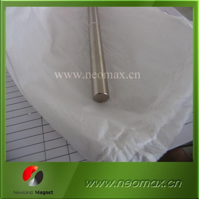 strong D15x100 cylinder magnet with Ni coating