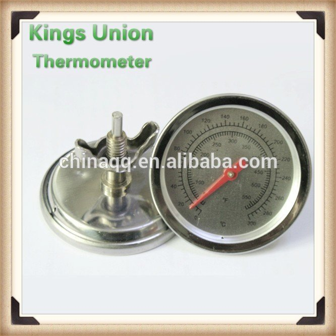 Bimetal Oven Thermometer Pizza Accessories BBQ Oven Thermometer
