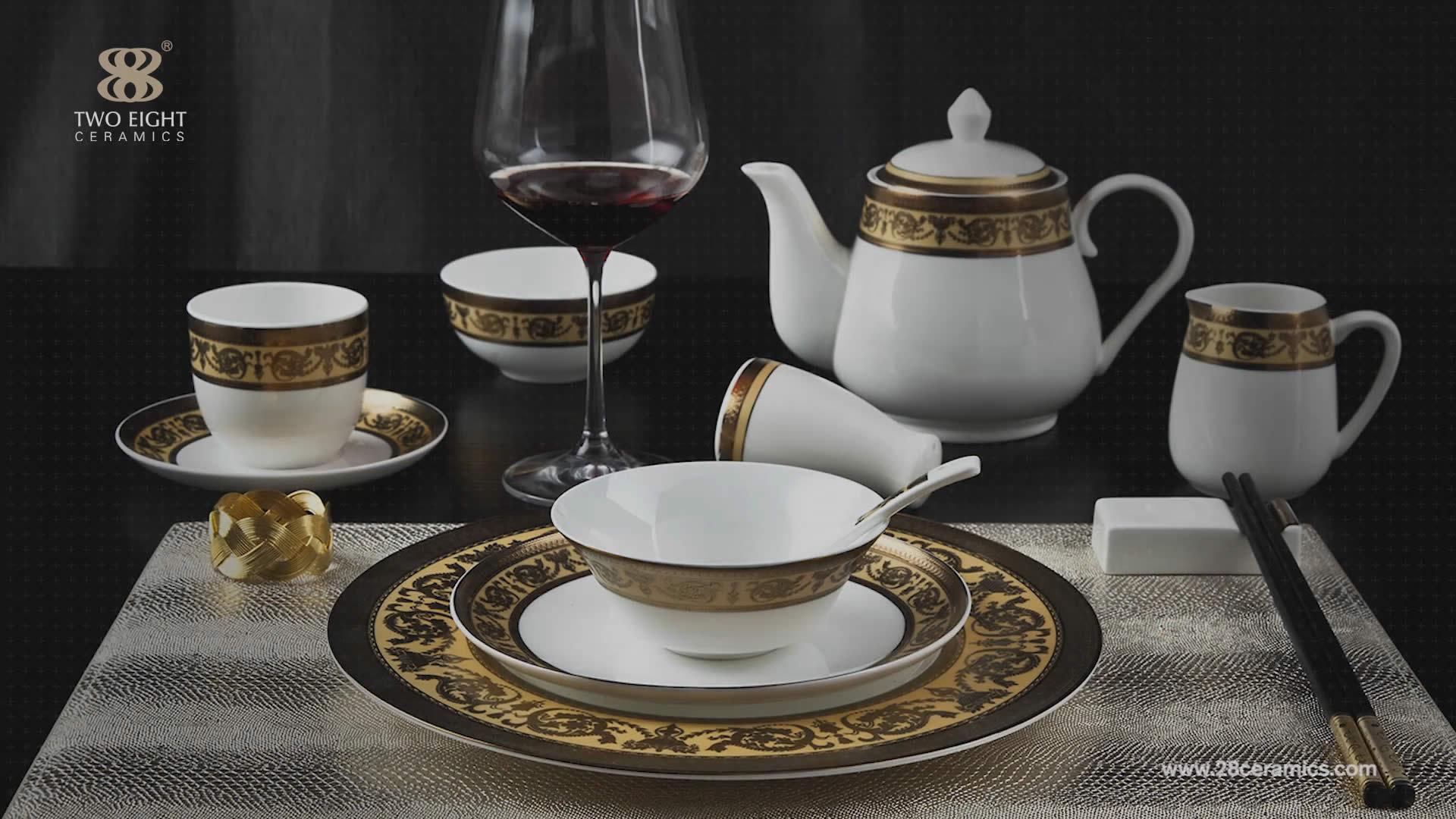 Decals Ceramic Tableware